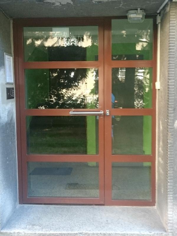 Vchodové dvere Jansen dnu otváravé