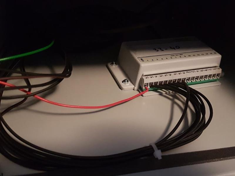 Schránky ELBOX - otváranie na čipový kľúč zapojenie