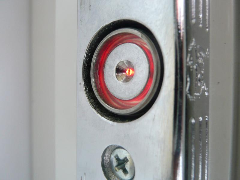 Detail dotykovej plochy