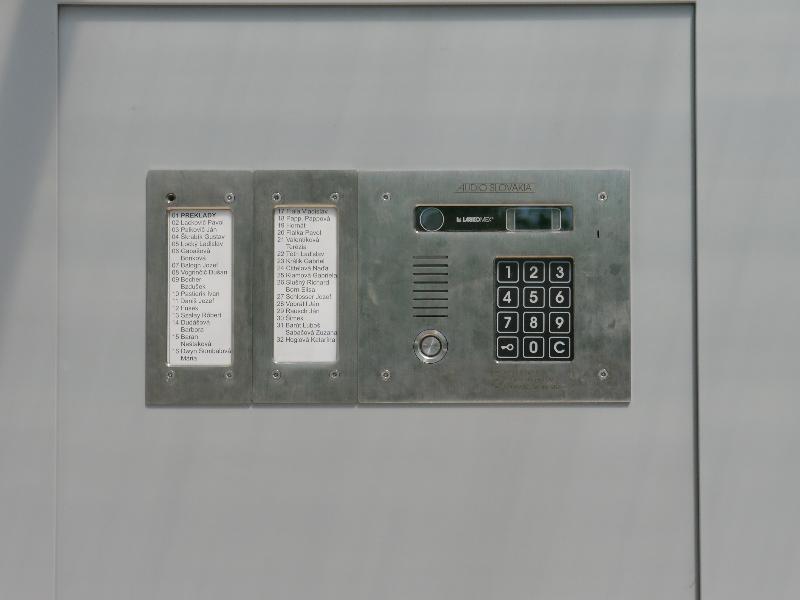 Tablo AUDIO kódová voľba