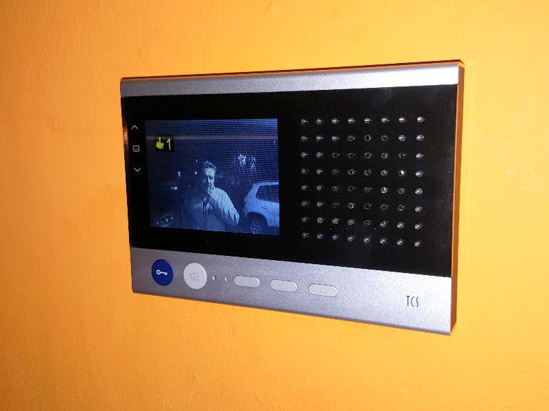 Handsfree videotelefón