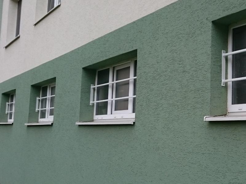 Mreže na okná bytového domu