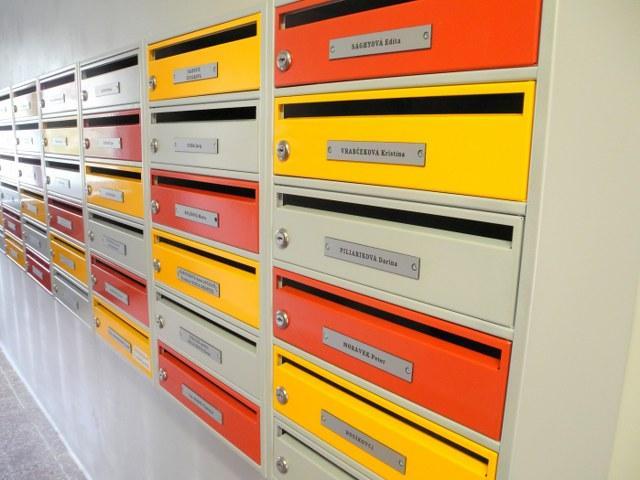 Jednostranné poštové schránky EASYBOX