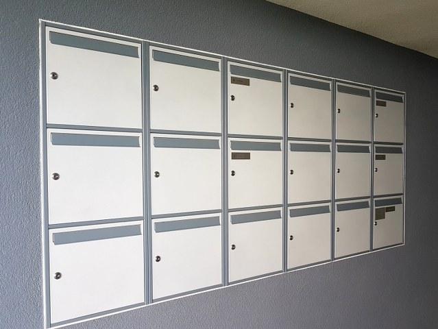 Jednostranné poštové schránky PREMIUM so záklopkou